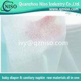 Nonwoven Ss Spunbond гидрофильный для сырий Topsheet пеленки младенца