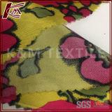 Material impreso flor del paño de la tela de rayón viscoso de la tela cruzada el 100%