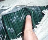 PVCによって塗られる切口のワイヤーまたはハンガーワイヤーかまっすぐに切られたワイヤー