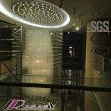 Lampadario a bracci decorativo dell'a cristallo di spirale K9 di stile dell'hotel classico specialmente grande