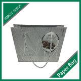 印刷の習慣のアートワークが付いている昇進のリサイクルされたペーパーショッピング・バッグ
