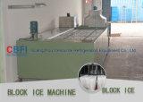 Regolatore del PLC 5 tonnellate di ghiaccio di macchine del blocco