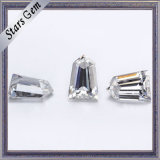 Diamant van Moissanite van de Besnoeiing van de Kogel van de Kleur van de Waarborg E/F van de kwaliteit de Spitse