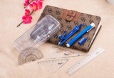 Nuovo 7 PCS per la matematica di plastica di Haiwen fissato nel sacchetto di OPP