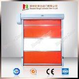 Innenraum-und Außengebrauch-Hochgeschwindigkeitsgewebe-schneller Blendenverschluß rollen oben Türen (Hz-FC02630)