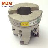 Moinho de extremidade elevado contínuo Indexable de Feedrate da máquina do torno do CNC