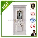 Portes intérieures personnalisées en bois solide pour la villa