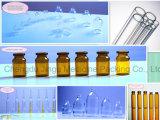 bernsteinfarbige Glasphiole-Flasche des niedrigen Borosilicat-20ml für das medizinische Verpacken
