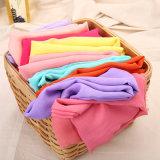 女性のためのGarment Fabric 100%年のポリエステル柔らかいシフォン