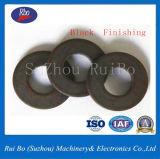 Schwarze Platten-Verschluss-Federscheibe der Fertigstellungs-DIN6796 konische