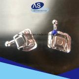 Dental contra uno mismo la ligadura del metal acorcheta los corchetes ortodónticos del metal con alta calidad
