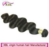 Человеческие волосы девственницы Unprocessed полной объемной волны надкожицы бразильские