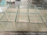 Het gevariërde Glasheldere Glas van de Dikte/het Decoratieve Glas van de Vlotter (w-TP)