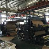 Máquina de impressão não tecida de Flexo de quatro telas das cores