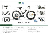 E-Bike безщеточного заднего мотора 500W складывая (CMS-TDE10Z)