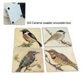 Coaster da decoração Eco-Friendly da tabela & esteira cerâmicos do copo