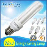 D'éclairage spiralé économiseur d'énergie en gros du tube 2u/3u/4u lampe/T3/T4/T5 plein demi DEL CFL de fournisseur/ampoule économiseuse d'énergie de lotus