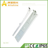 Nuovo 50W 3 anni di garanzia tutta in una lampada solare della sosta dell'indicatore luminoso di via del LED