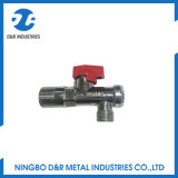 Messingwinkel-Kugelventil des filter-Dr5018