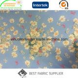 De hete Verkopende Afgedrukte Stof van 100% Polyester voor het Kledingstuk van de Dame