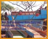 Trommel écran rotatif mobile de minerai d'or usine de lavage