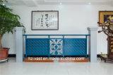 Barandilla de acero galvanizada decorativa elegante 2 del balcón de la aleación de aluminio de Haohan