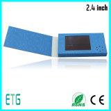 2.4inch LCD Kaart van de Groet van het Scherm de Video, Adreskaartje, LCD Kaart (lcd kaart)