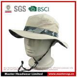 Sombrero 100% de Oudoor Sun del poliester del color de Camo