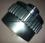 Pièces de rechange de mini d'excavatrice de KOMATSU moteur de course pour PC200-5