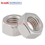 Écrous de blocage Nuts de pipe de fil de DIN431 ISO228 dans l'accord