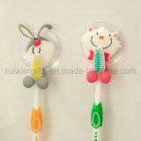 De dierlijke Houder van de Tandenborstel van de Jonge geitjes van pvc van het Ontwerp Rubber (TBH002)