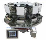 Macchina imballatrice rotativa con il pesatore di Multihead delle 10 teste