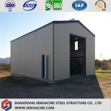 Constructeur léger professionnel d'entrepôt de structure métallique pour l'Afrique
