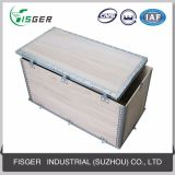 Rectángulo plegable de la madera contrachapada de la alta calidad gruesa para el transporte
