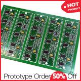 回転Fr4 RoHS電子プロトタイプ回路は絶食する