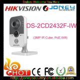 Камера IP WiFi камеры кубика сети разрешения Hikvision 3MP высокая (DS-2CD2432F-I)