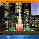 Fontaine décorative de musique d'éclairage LED européen extérieur de type