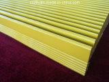Profil en aluminium personnalisé de radiateur d'extrusion de grandes parties