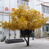정원사 노릇을 하기를 위한 인공적인 은행나무 나무 3 미터