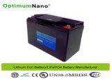De Batterij van de Motor van het Karretje van het Golf van de Batterijen van het Fosfaat van het Ijzer van het lithium 12V 20ah