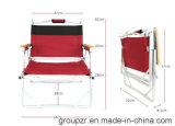 Chaise de chaise de camping pliante à l'extérieur