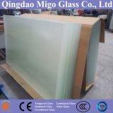 片面反射防止コーティングされた低鉄鍛え太陽板ガラス