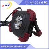 높은 가벼운 강렬 넓은 사용법 휴대용 재충전용 LED Worklight
