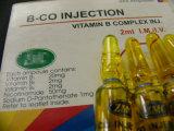 Certificação de GMP Vitamina B injecção complexos