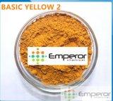 Grundlegende grundlegende gelbe Farbe des Gelb-2 für Leder