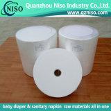 Código del HS: 5603.1100 Nonwoven blanco de SMMS para las pistas Legcuff de la incontinencia del pañal y del adulto del bebé