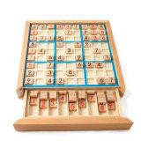 Hot la vente de jouets éducatifs pour les enfants d'échecs de Sudoku en bois