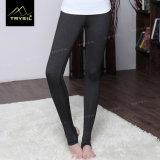 Yoga-Fuss-Hosen der Dame-Legging