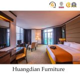 Slaapkamer Furnitures van het Hotel van de Grootte van de Koning van de luxe de Houten (HD028)