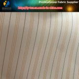 Померанцовая линия ткань нашивки высокого качества сплетенная полиэфиром для одежды женщин (S142.143)